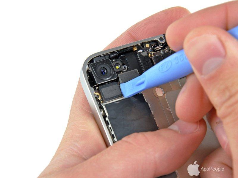 Iphone 4s замена передней камеры ремонт мобильного телефона fly mc110